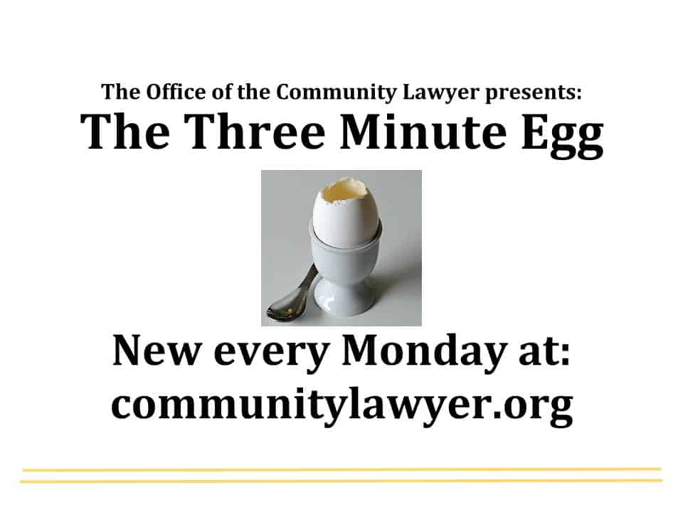 The Three Minute Egg: Deregulation of Landlines