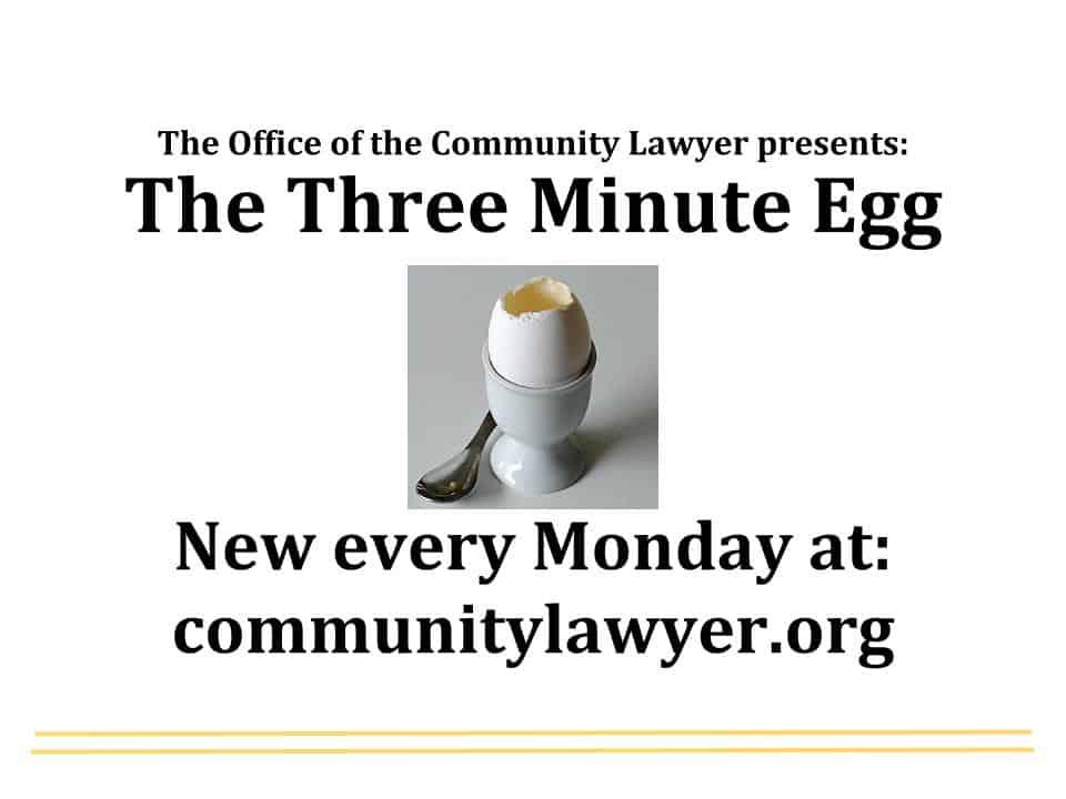 Three Minute Egg (1)