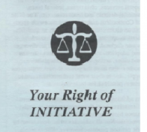 Your Right of Initiative Pamphlet