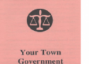 Your Town Government Pamphlet
